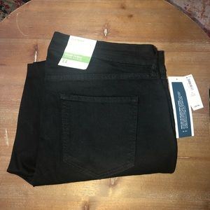 NWT Old Navy super skinny mid-rise black jeans